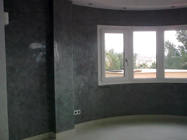 10 decoraci n con estuco veneciano - Aplicacion decoracion de interiores ...