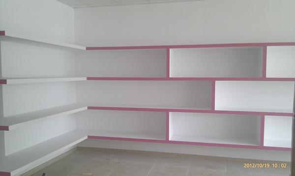 Como hacer una estanteria de pladur beautiful estantera - Estanterias pladur ...